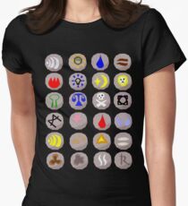 Runes --- Runescape Women's Fitted T-Shirt