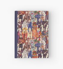 The party doesn't start until the Doctor walks in...twelve times Hardcover Journal