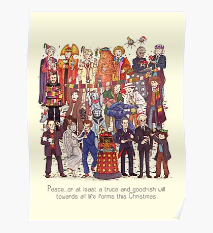 The party doesn't start until the Doctor walks in...twelve times Poster