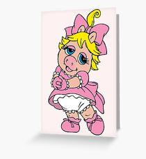 Muppet Babies - Baby Piggie Greeting Card
