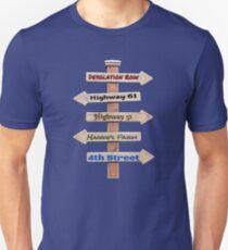 Camiseta unisex Bob Dylan Roadmap