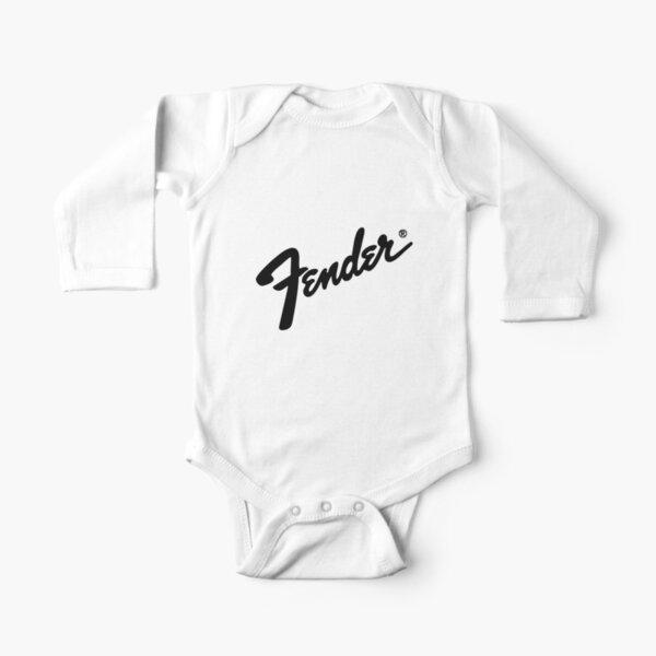 BEST SELLER - fender logo Merchandise Long Sleeve Baby One-Piece