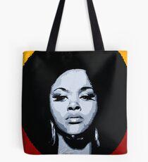 Jill Scott Painting Tote Bag