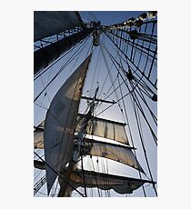 Lines, sheets, spars Photographic Print