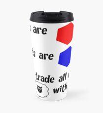 Catan Love Poem Travel Mug