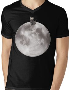 Lost in a Space / Moonelsh Mens V-Neck T-Shirt