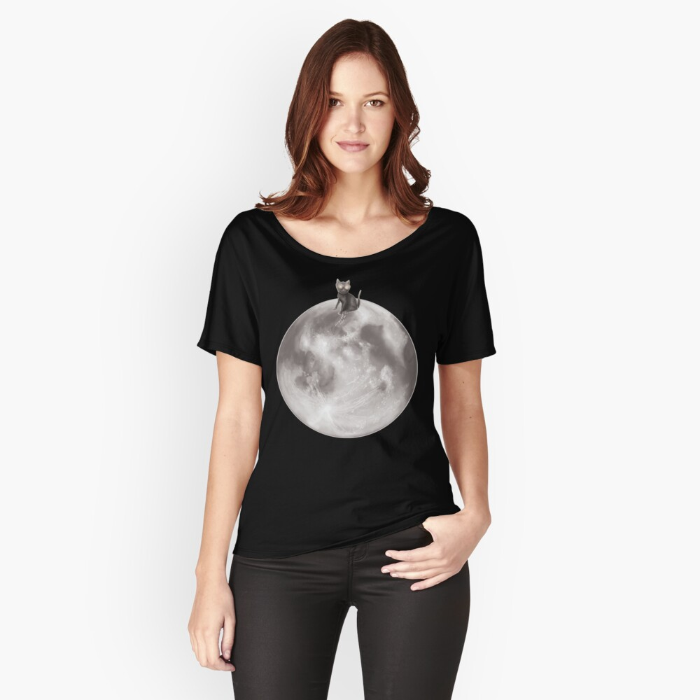 Lost in a Space / Moonelsh Relaxed Fit T-Shirt