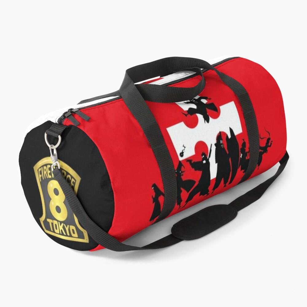 Fire Force Team 8 Duffle Bag