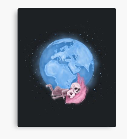 Lost in a Space / Homeckly Canvas Print