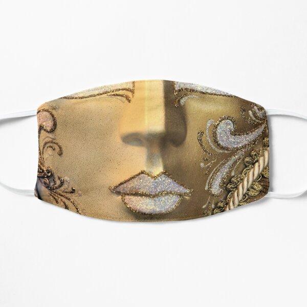 Masque vénitien, or blanc Masque sans plis
