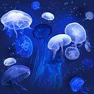 Blue Jellyfish by jenithea