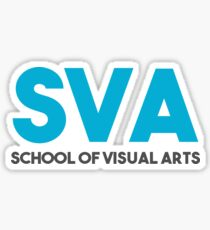 SVA School of Visual Arts  Sticker