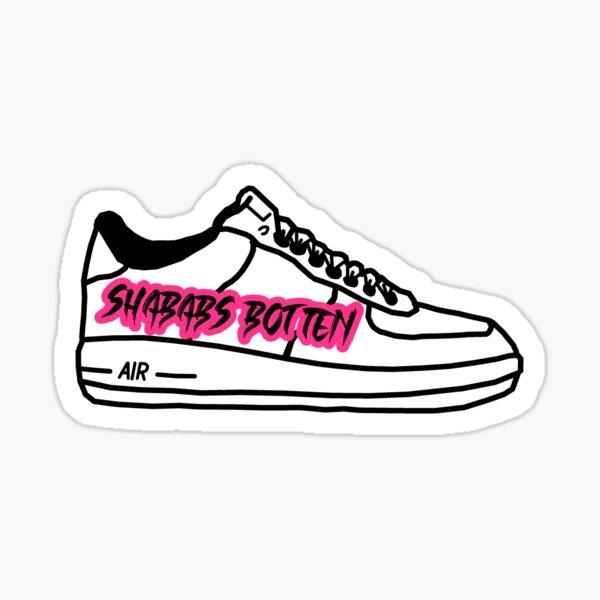 Shababs Botten Deutschrap Fan Art Sticker
