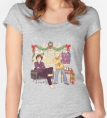 The Mystery of the Advent Chocolates Women's Fitted Scoop T-Shirt
