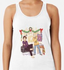 The Mystery of the Advent Chocolates Racerback Tank Top
