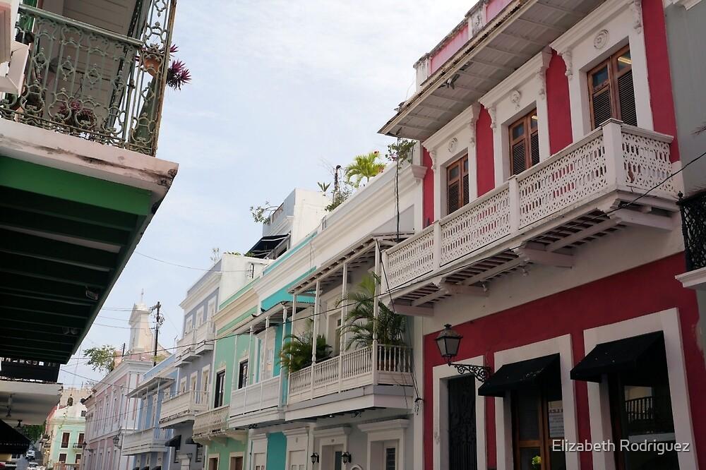 Old San Juan's Colorful Casas by Elizabeth Rodriguez