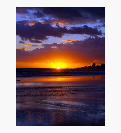 Bilinga Beach Sunrise 2 Photographic Print