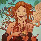 My coffee muse by kiko