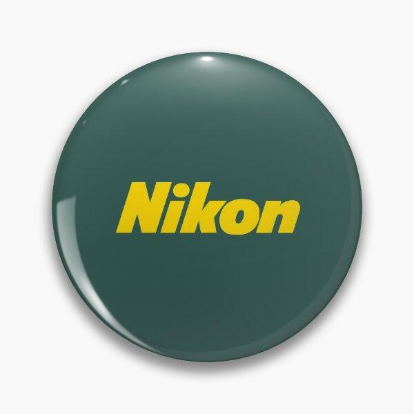 Nikon Camera Logo Pin