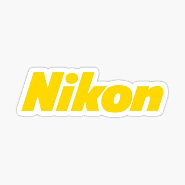 Nikon Camera Logo Sticker