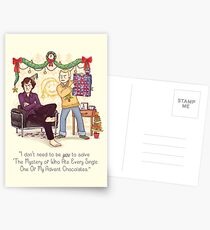 The Mystery of the Advent Chocolates Postcards