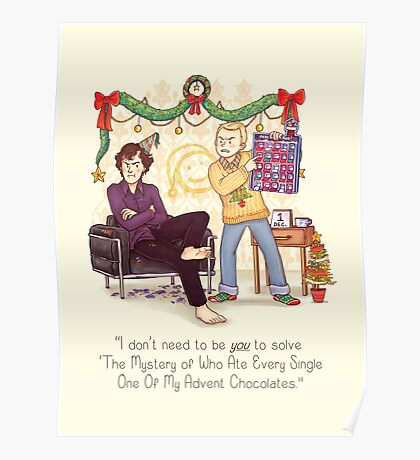 The Mystery of the Advent Chocolates Poster