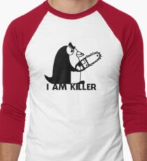 Killer Penguin Funny Man Tshirt T-Shirt