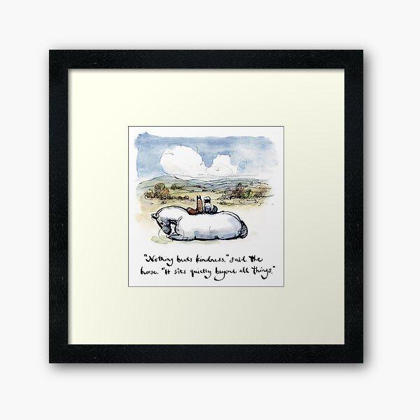 Charlie Mackesy Kindness Framed Art Print