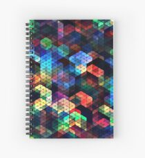 Cuaderno de espiral Colorful Stained Glass Effect