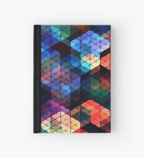 Cuaderno de tapa dura Colorful Stained Glass Effect