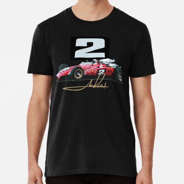 Mario Andretti 1969 Brawner Hawk Premium T-Shirt
