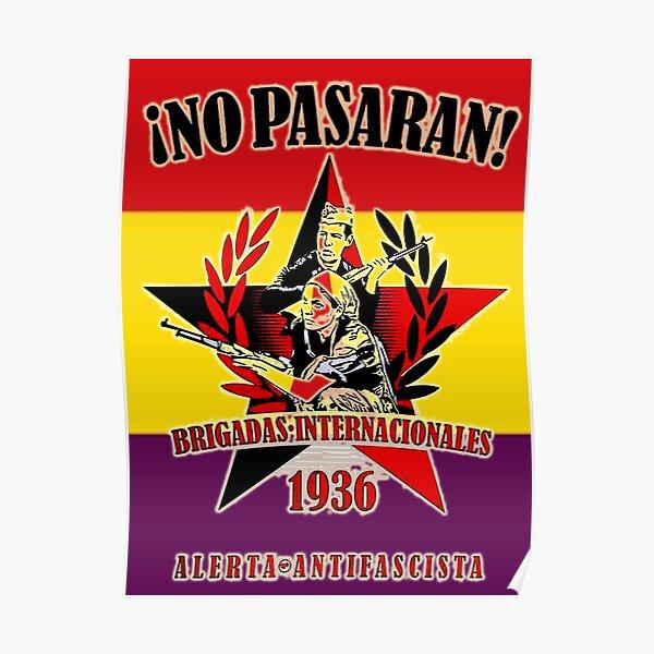 BRIGADAS INTERNACIONALES 1936!! NO PASARAN!!! Póster