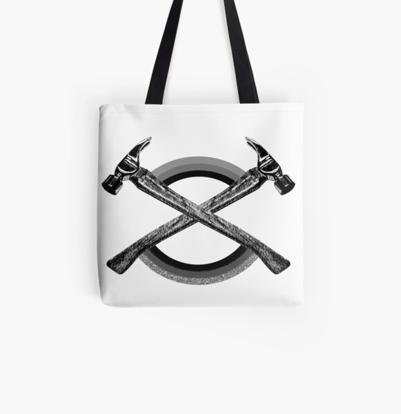 Hammer Rainbow - Hammer and Clover All Over Print Tote Bag
