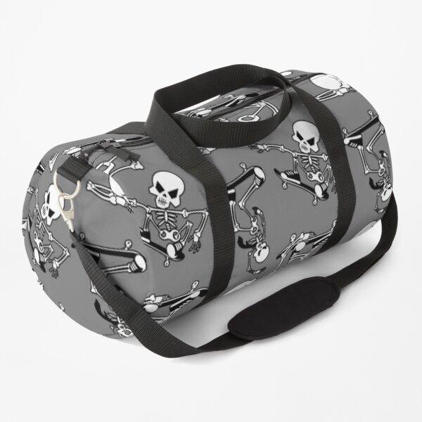 Skeleton Zombie Skater Skateboard Pattern Duffle Bag