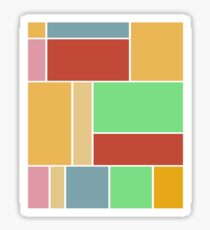 Abstract #347 1960s Palette Sticker