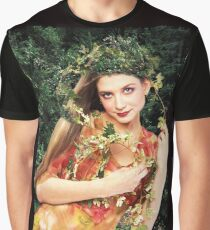 Mountain Creek Fairy - from the Mysteries of the Forest series Graphic T-Shirt