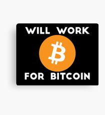 Bitcoin is the future Canvas Print