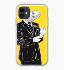 Vinilo o funda para iPhone Dapper Lizard