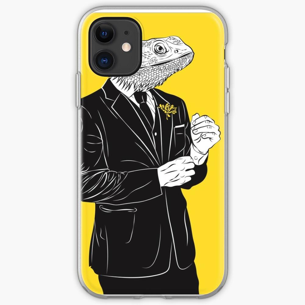 Dapper Lizard Funda y vinilo para iPhone