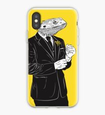 Dapper Lizard iPhone Case