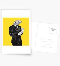 Dapper Lizard Postcards