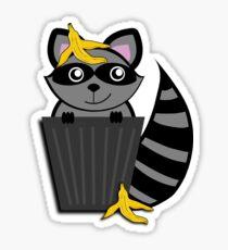 Trash Panda Raccoon Sticker