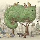 The Night Gardener - The Cat Tree by Eric Fan