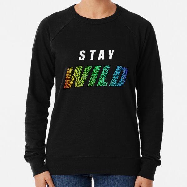Stay Wild Exclusive Ben Azelart  Lightweight Sweatshirt