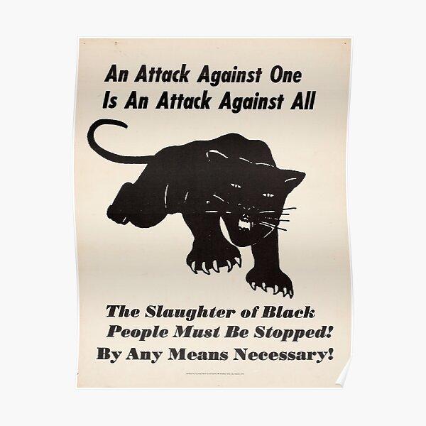 Black panther poster Poster