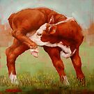 Itchy Red Calf by Margaret Stockdale