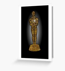 oscar award Greeting Card