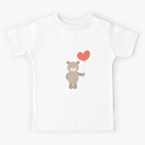 Toy teddy bear with heart. Kids T-Shirt
