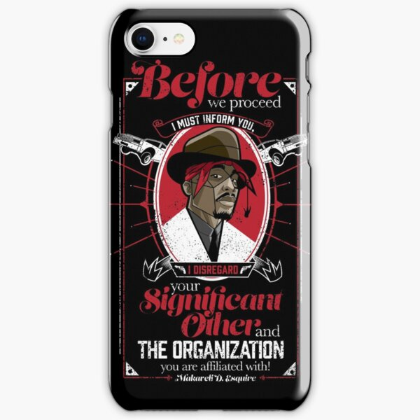 Gentlemayne - Makaveli  iPhone Snap Case