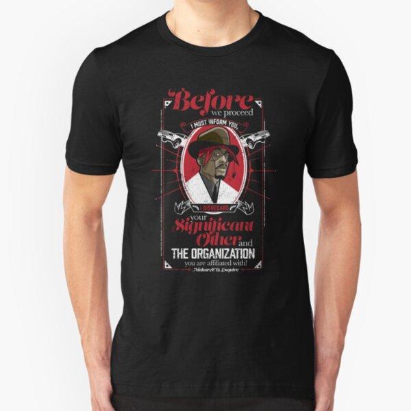Gentlemayne - Makaveli  Slim Fit T-Shirt
